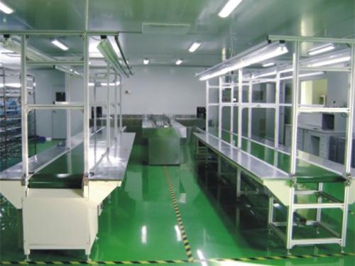 生产车间设备展示